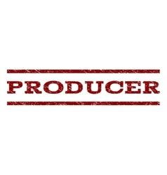 Producer watermark stamp vector