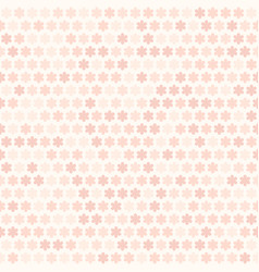 rose flower pattern seamless vector image vector image