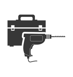 Tool kit box repair design vector