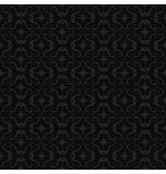 ornaments background black vector image