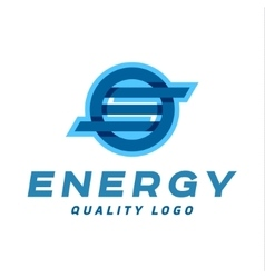 Technology abstract brand logo sign into vector