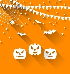 Halloween Paper Background vector image vector image