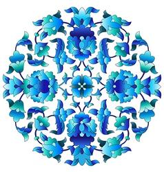 Ottoman motifs design series sixty three vector