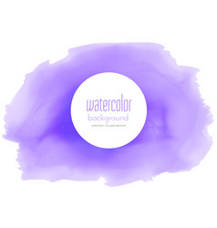 Purple watercolor texture background vector