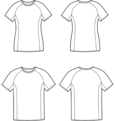 Sport t-shirt vector image vector image
