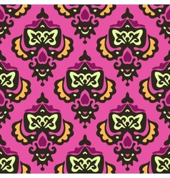 Damask royal seamless pattern vector image