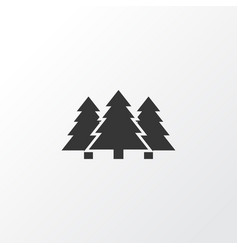 forest icon symbol premium quality isolated tree vector image vector image