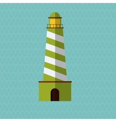 Light house icon design vector