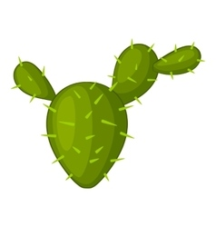 Prickly pear icon cartoon style vector image