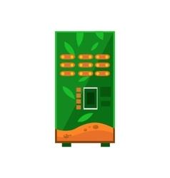 Hot Drinks Vending Machine Design vector image