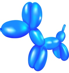 Balloon dog vector