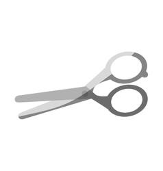 Isolated scissor design vector image vector image
