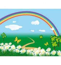 meadowland vector image vector image