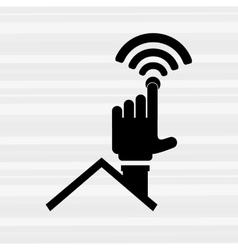 Smart house design vector