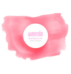 soft red watercolor grunge background vector image vector image
