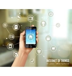 Internet Of Things Concept vector image