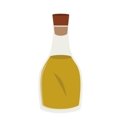 olive oil isolated icon vector image