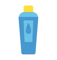 Shampoo bottle vector image vector image