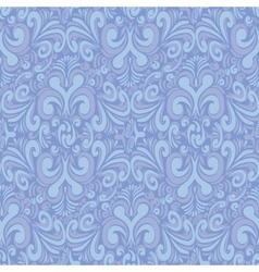 Seamless vintage blue background vector