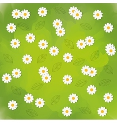 Flowers background design floral and garden icon vector