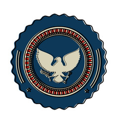 United states of america eagle vector