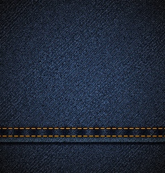 Background of blue denim vector