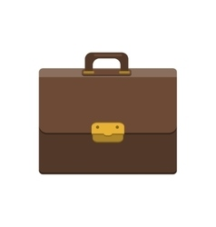 Briefcase icon Flat style vector image vector image