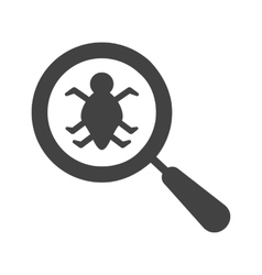 Find Bugs vector image vector image