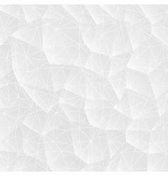 Abstract white background with triangles vector