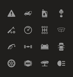 Car - flat icons vector