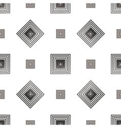Grey square geometric seamless pattern 2 vector image
