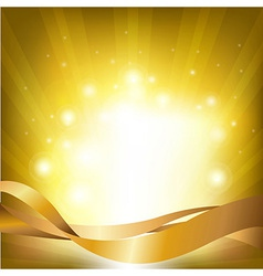 Lights Backgrounds With Sunburst vector image vector image