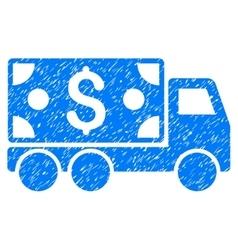 Cash delivery grainy texture icon vector