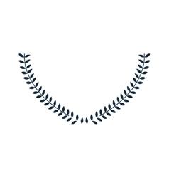 laurel wreath icon vector image vector image