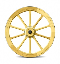wagon wheel vector image vector image