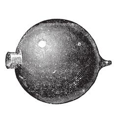 Resonator vintage engraving vector