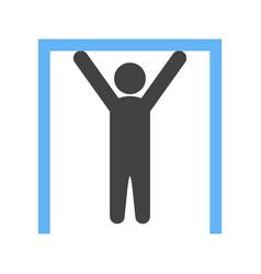gymnast i vector image