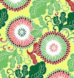 Asian flowers vector