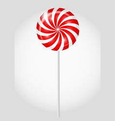 Striped candy vector