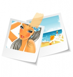 Photo summertime vector