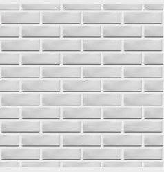 Seamless texture of a brick wall vector