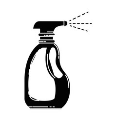 spray bottle product icon vector image