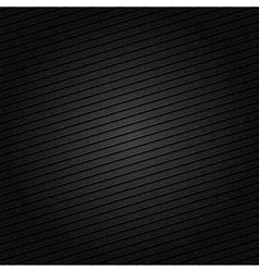 Striped metal surface for dark background vector image vector image