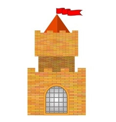 Brick castle vector