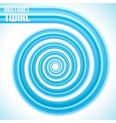 abstract twirl vector image vector image