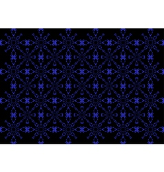 An abstract patternwallpaper in blue and black co vector image