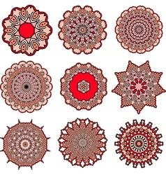 mandalas of love vector image