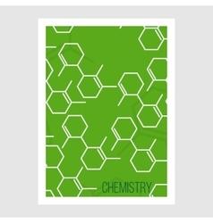 Science Brochure Flyer design template vector image