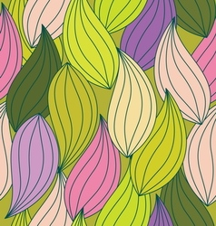 pattern leaf seamless2 vector image