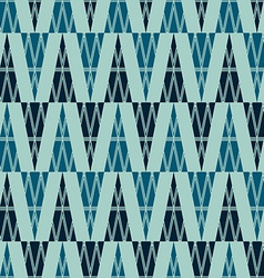 ancient triangle seamless pattern vector image vector image